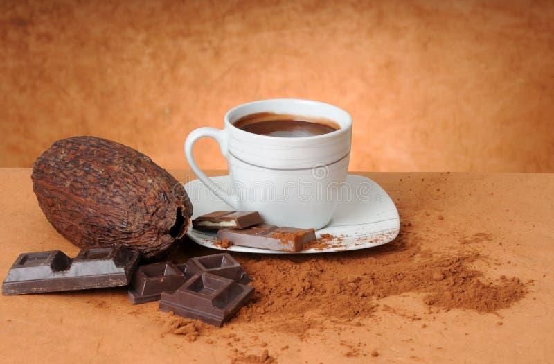 Noch Leben mit Schokolade lizenzfreie stockbilder