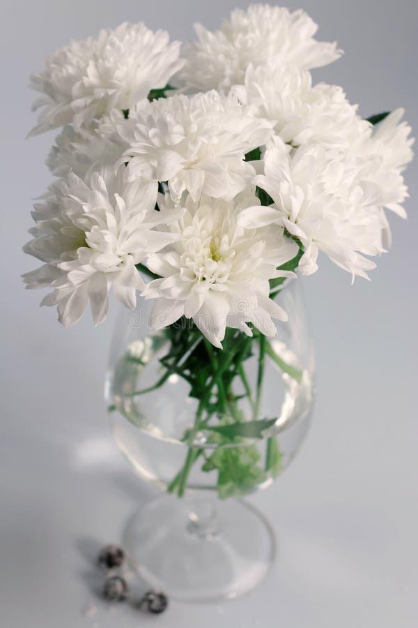 Noch lebens- Blumenstrauß von Chrysanthemen lizenzfreie stockbilder