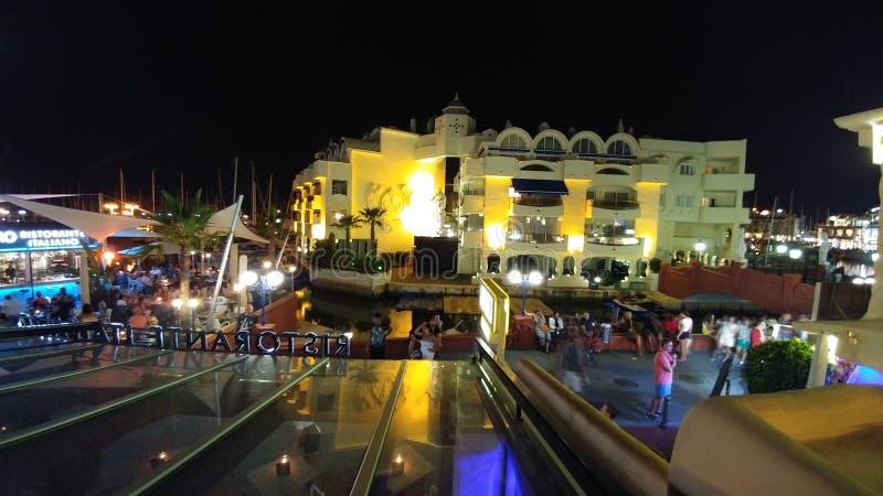 Noche Ла стоковое изображение