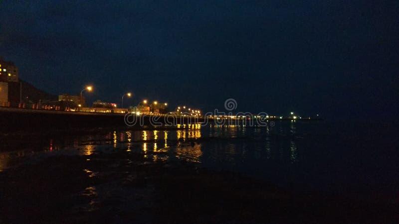 Noche fotografia stock