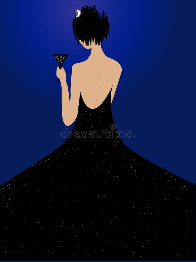 Noche libre illustration