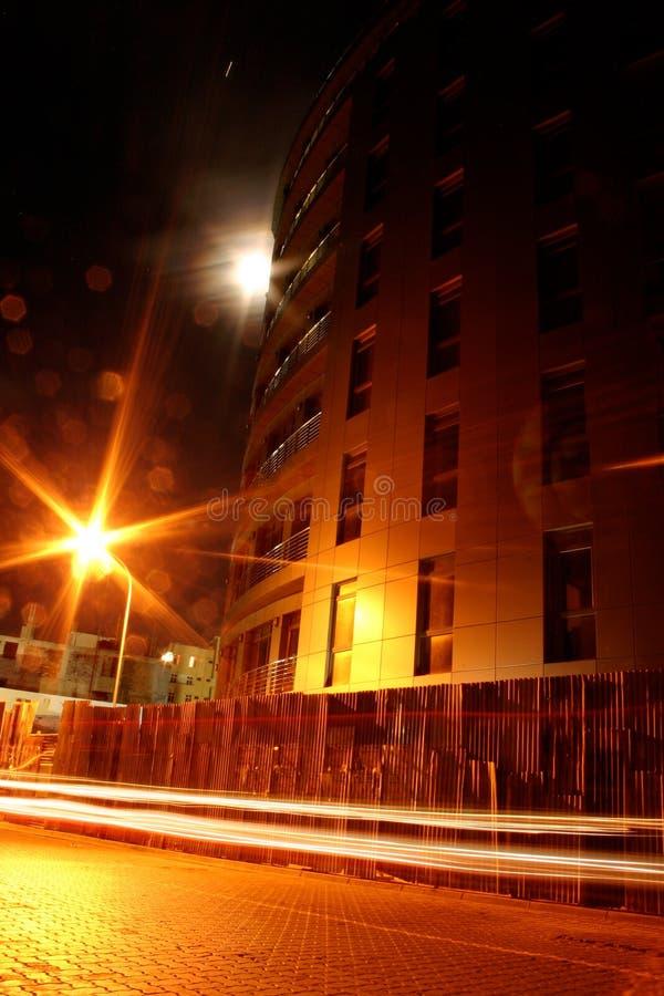 Noche anaranjada imágenes de archivo libres de regalías