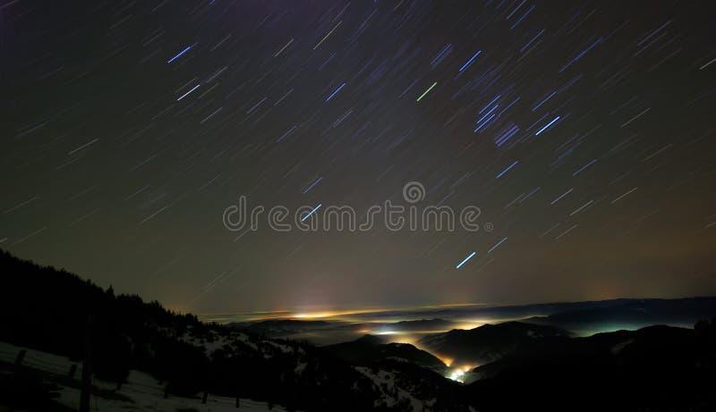 Noche clara foto de archivo