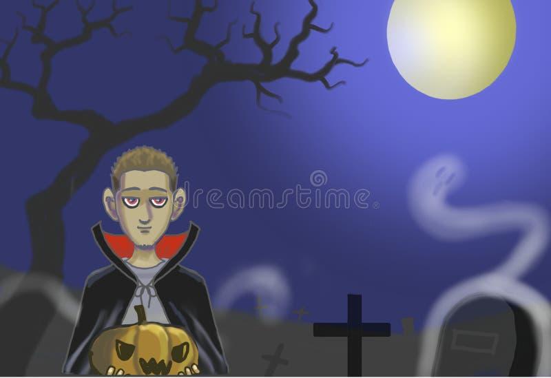 Noche de Halloween foto de archivo libre de regalías