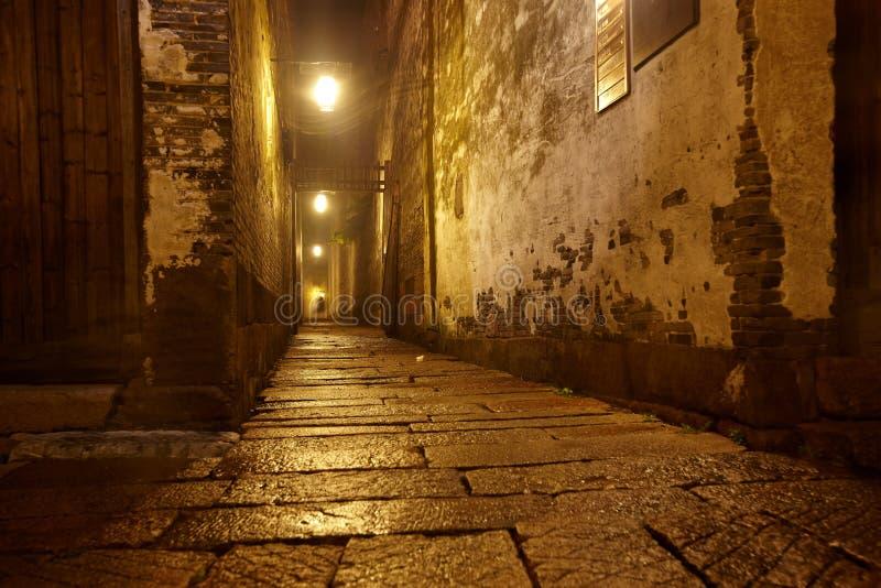 Noche de la calle foto de archivo