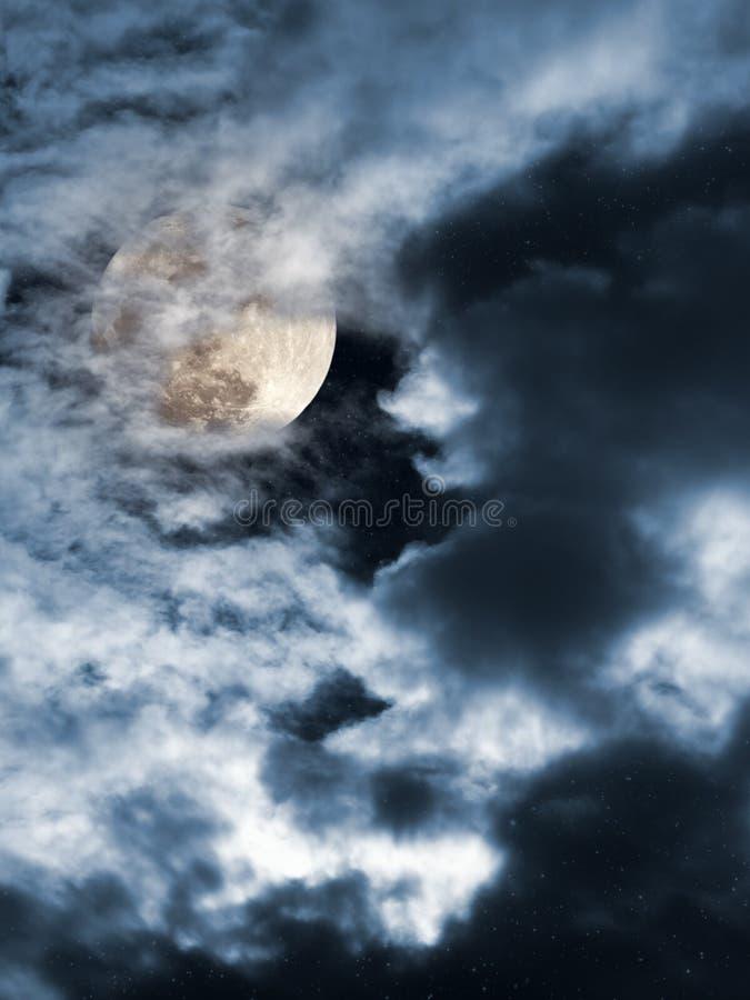 Noche de la Luna Llena libre illustration