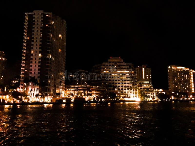 Noche de las luces fotos de archivo libres de regalías