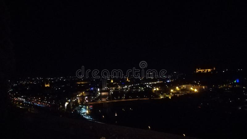Noche de verano foto de archivo