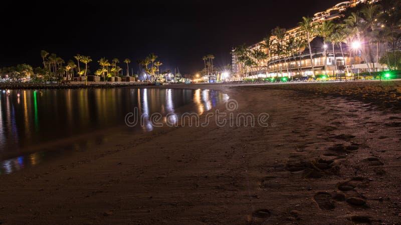 Noche de verano en la isla de Gran Canaria España fotos de archivo