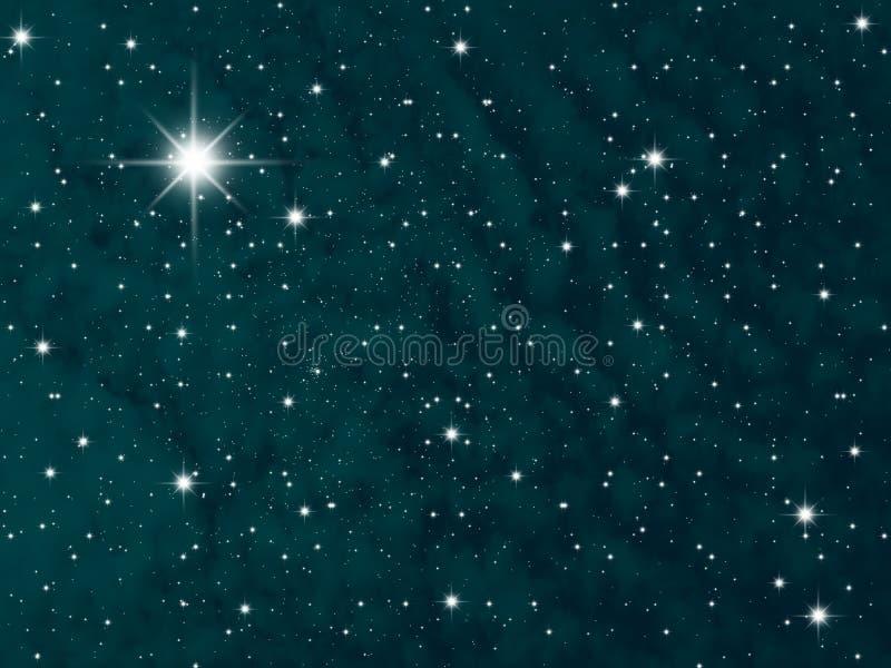 Noche del cielo libre illustration