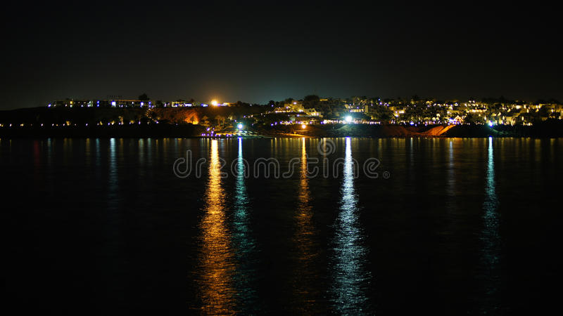 Noche egipcia fotos de archivo libres de regalías