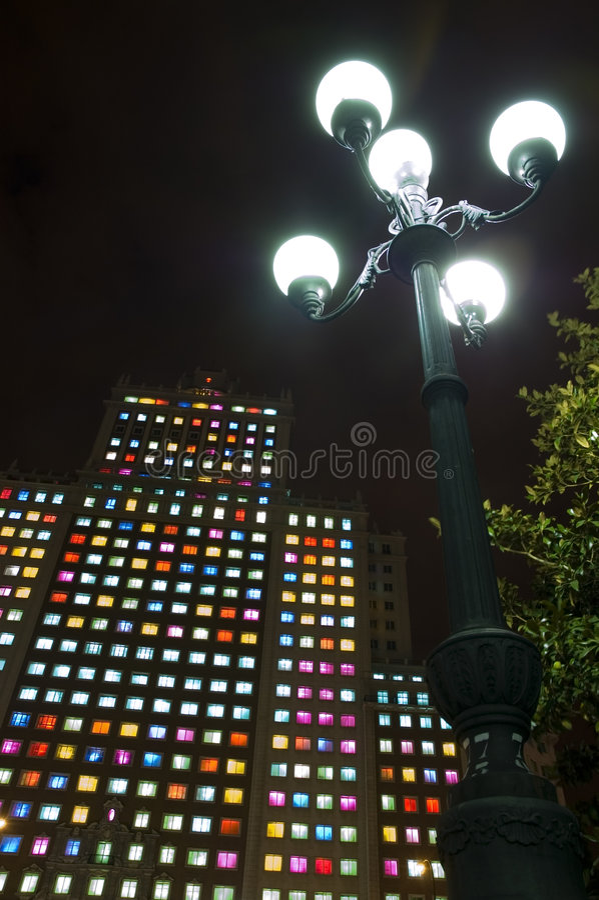Noche En Blanco / White Night stock photos