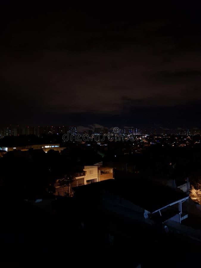 Noche oscura foto de archivo