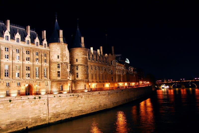 Noche París fotos de archivo