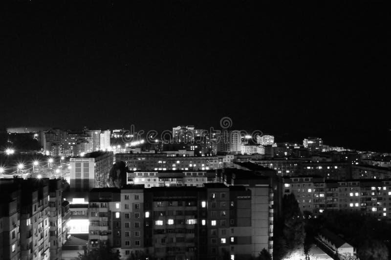 Noche urbana imagenes de archivo