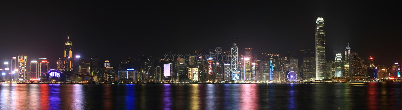 Noche Vieja Hong Kong 2015 fotos de archivo