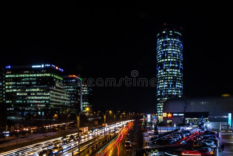 Noches en Bucarest imagen de archivo libre de regalías