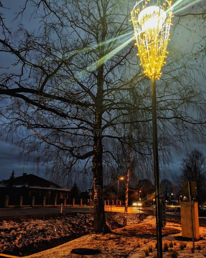 Noches oscuras foto de archivo libre de regalías