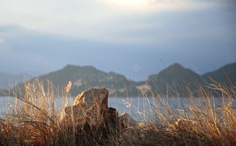 Nocken Ranh-Bucht - Binh Ba-Insel stockfotografie