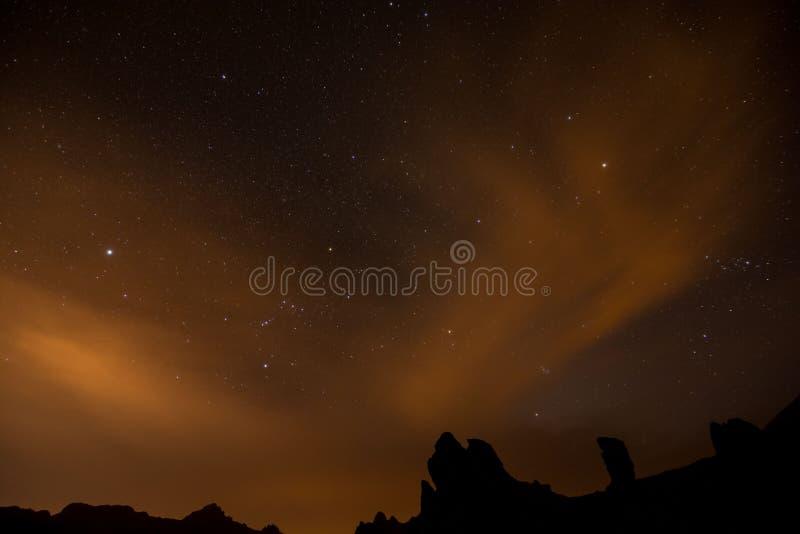 Nocne Niebo obrazek obrazy royalty free