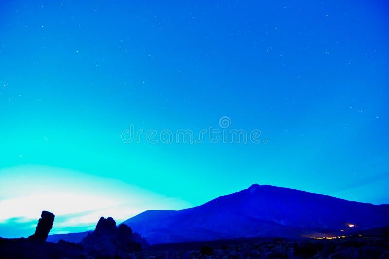 Nocne Niebo obrazek obraz royalty free