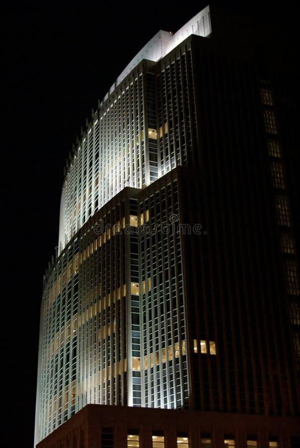 nocny biuro fotografia stock