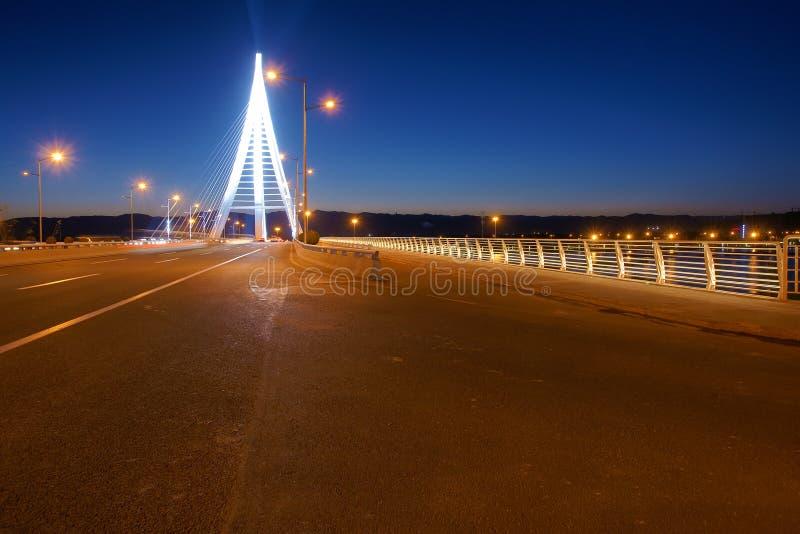 Nocturne del puente imagen de archivo