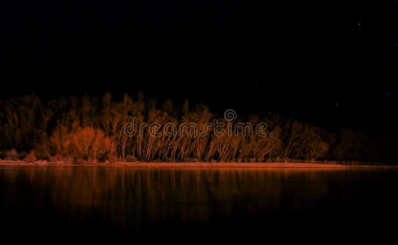 Nocturno Рио стоковая фотография