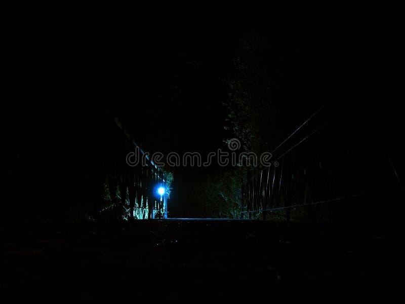 Nocy ścieżka obraz royalty free