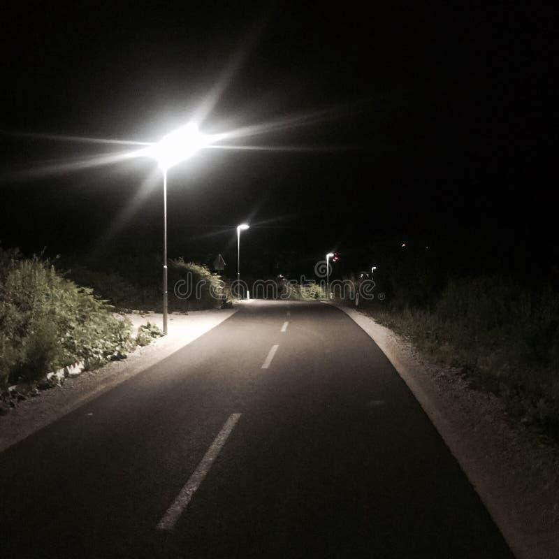 Nocy światło obraz royalty free