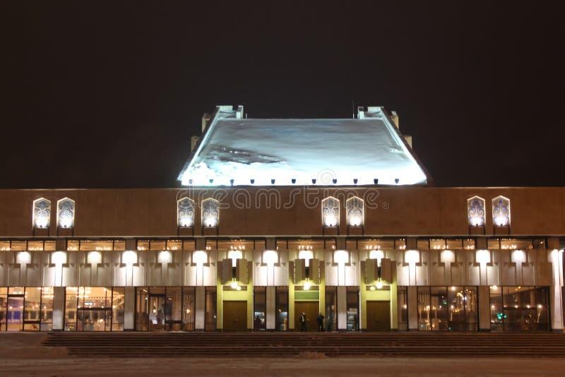 nocy Kazan pejzaż miejski zdjęcia royalty free