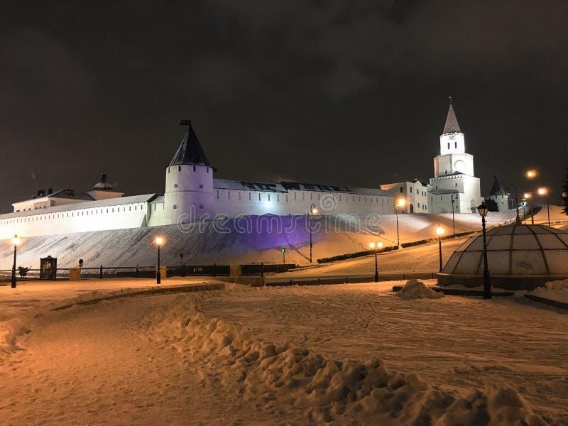 nocy Kazan widok obrazy royalty free
