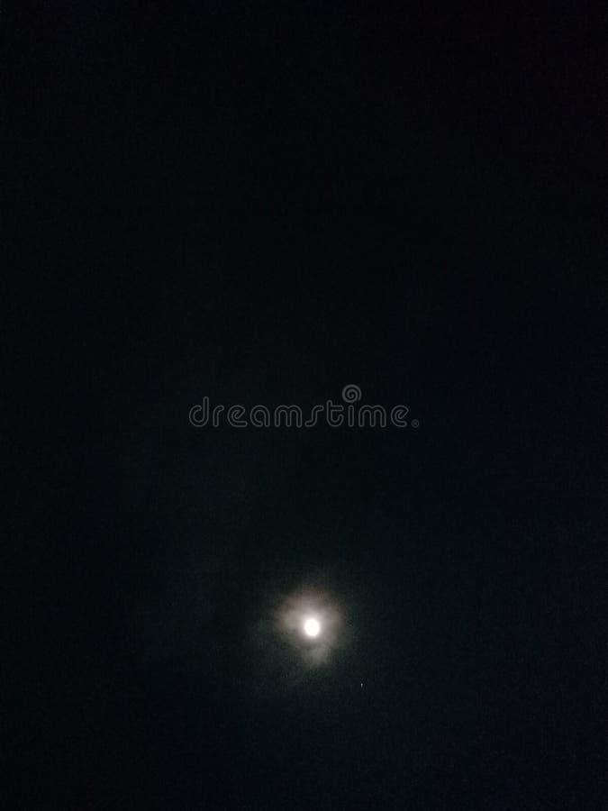 Nocy piękno, księżyc piękno zdjęcia stock