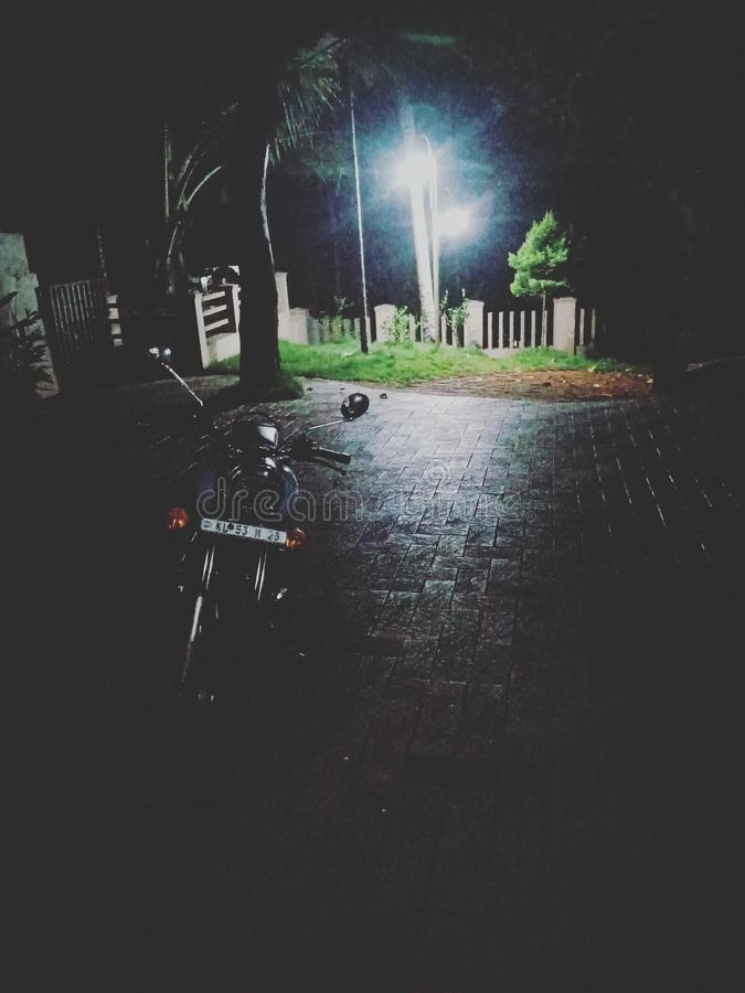 Nocy przejażdżka obrazy stock