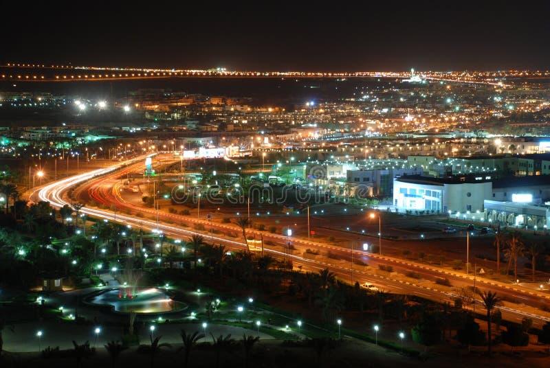 nocy sharm el sheikh obrazy stock
