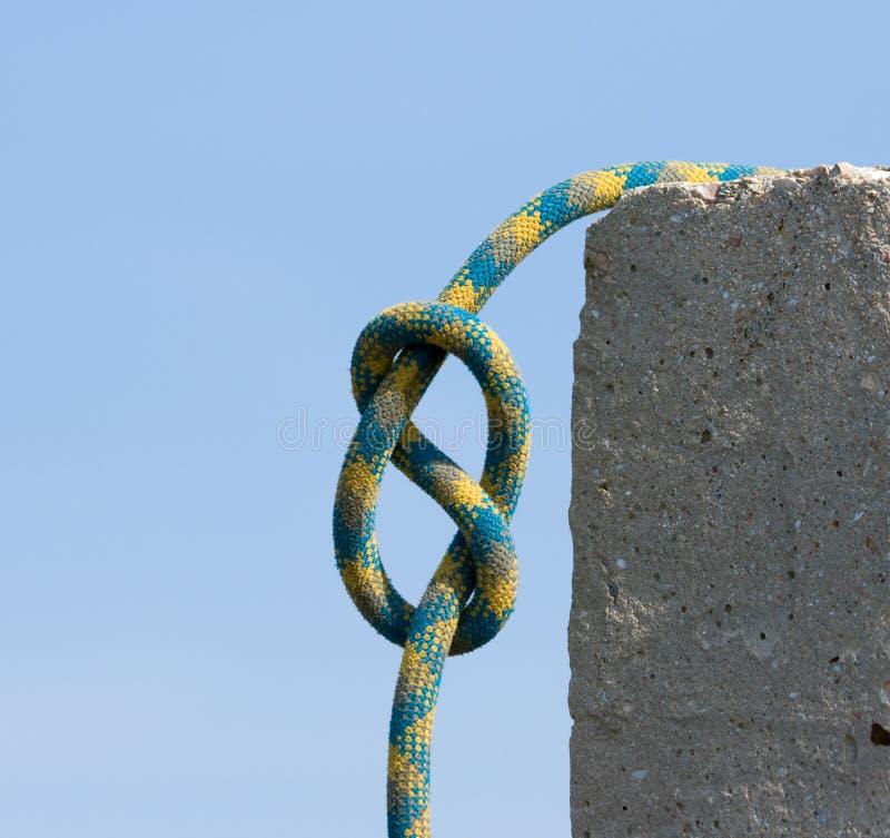Nodo figura-di-otto. immagine stock