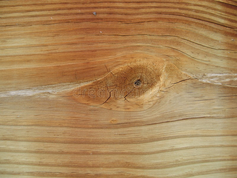 Nodo nell'estratto di legno fotografie stock