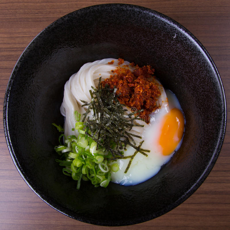Noedel udon stock afbeelding