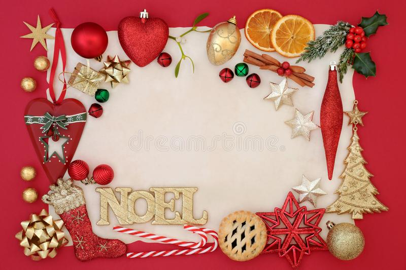Noel Abstract Background imagens de stock royalty free