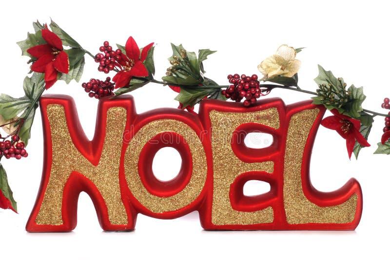 noel christmas decoration stock photo image of gold 17456006. Black Bedroom Furniture Sets. Home Design Ideas