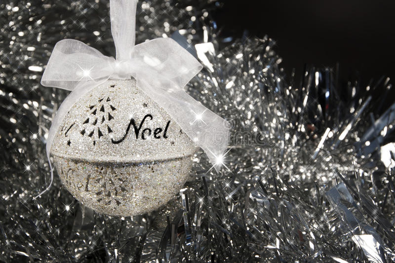 Noel Christmas Ornament royalty-vrije stock foto's