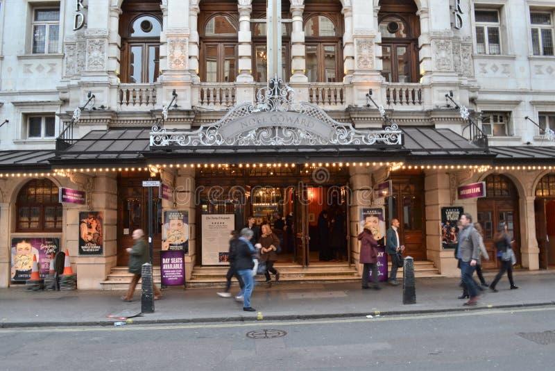 Noel Coward theatre London royalty free stock image