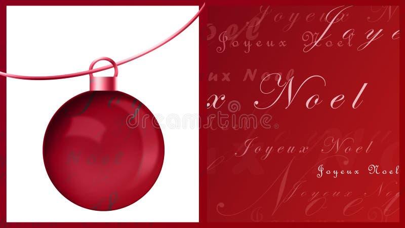 Noel de Joyeux libre illustration