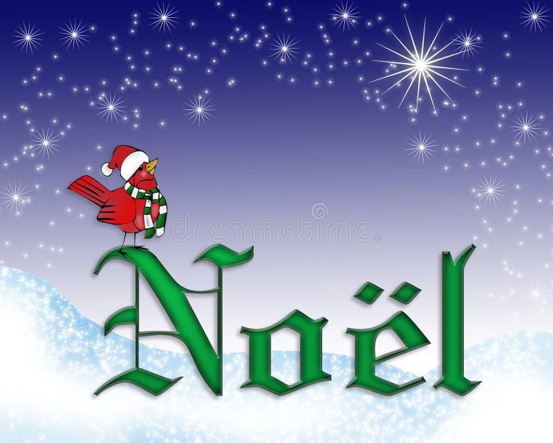 Noel Weihnachtskartenhintergrund vektor abbildung