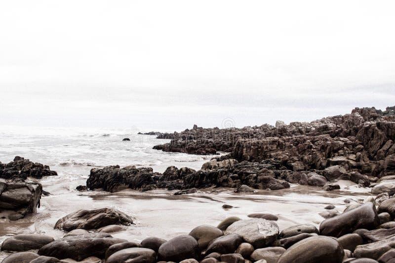Noetzi-Strand stockfoto