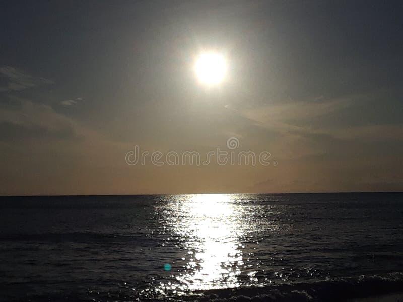 Nog een Hawaïaanse zonsondergang royalty-vrije stock foto