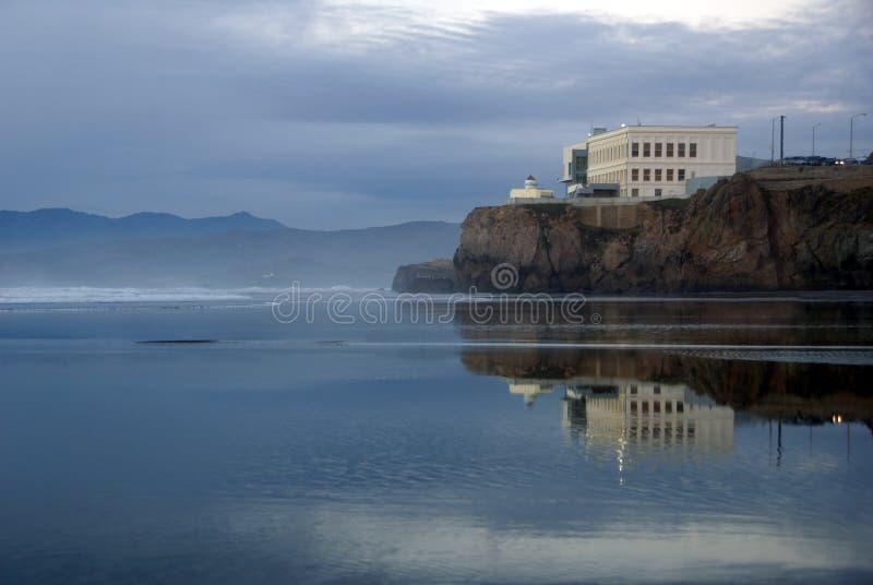 Nog Water in San Francisco stock foto's