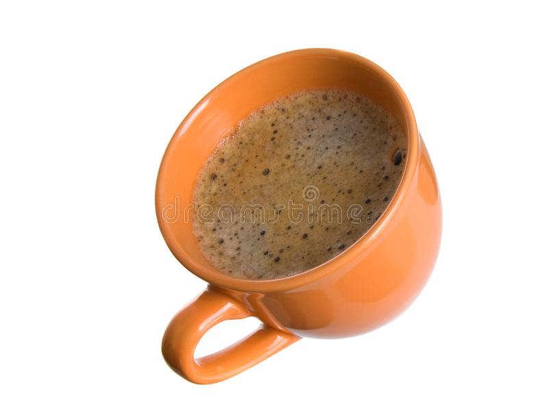 Download Noggin coffee with foam stock image. Image of dark, mocca - 8837325