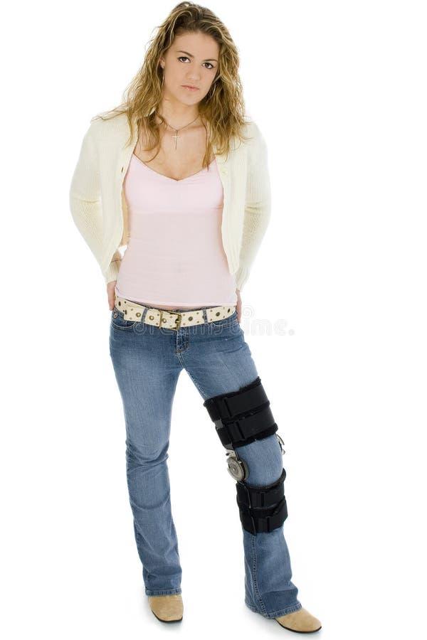 nogi klamrę przypadkowe kobiety young zdjęcia royalty free