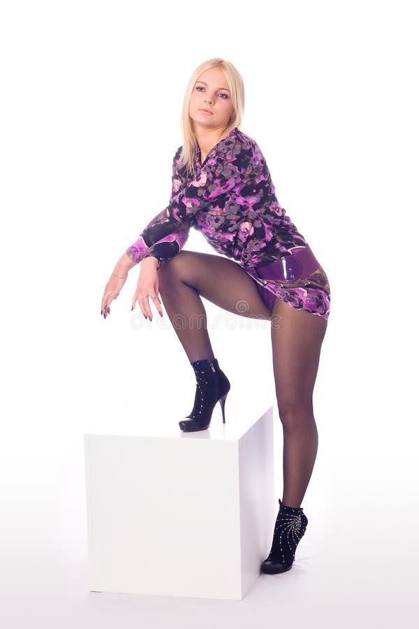 nogi nęcąca piękna kobieta fotografia royalty free